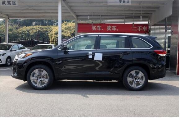 全新丰田汉兰达黑色霸气登场,售价23万起!