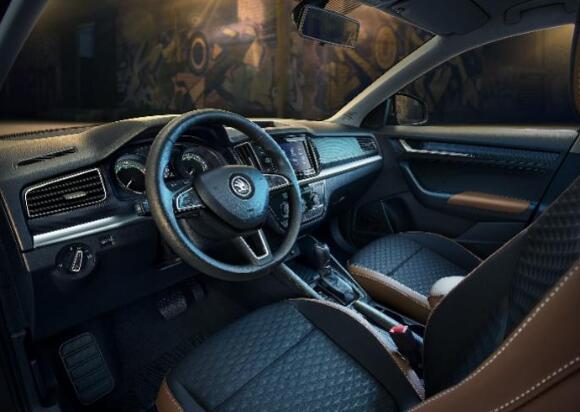 斯柯达suv汽车报价及图片,这款紧凑型SUV预售价12万起