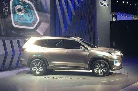 斯巴鲁viziv7预计售价35万起,车身尺寸无车能及