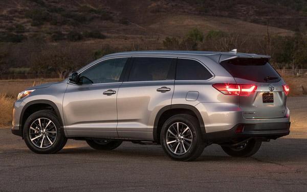 2018年7月七座SUV销量排行榜 丰田汉兰达售9487台新车夺冠