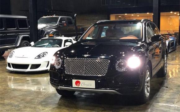宾利越野车SUV报价降低100万 新型号V8是否满足中国市场需求