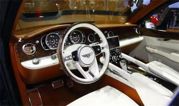 SUV市场厮杀中的王者宾利SUV概念车量产自信的来源