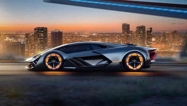 创新与发展 最有远见的兰博基尼概念车(过下眼瘾)