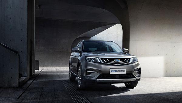 2018年8月国产SUV销量排行榜 吉利四款SUV销量过万