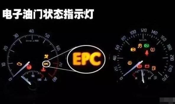 汽车仪表盘的epc是什么意思,发动机或电控出现故障