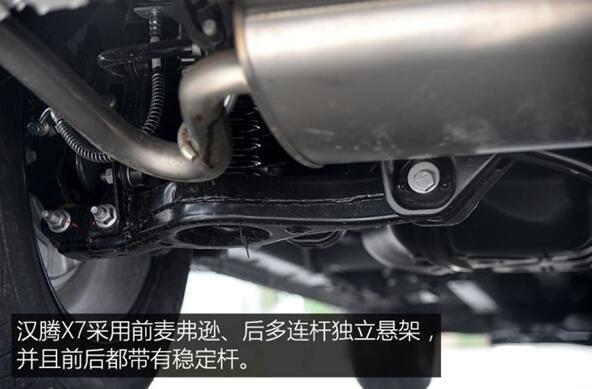 汉腾x7是什么发动机 三菱黄金动力组合(高效的燃油表现)