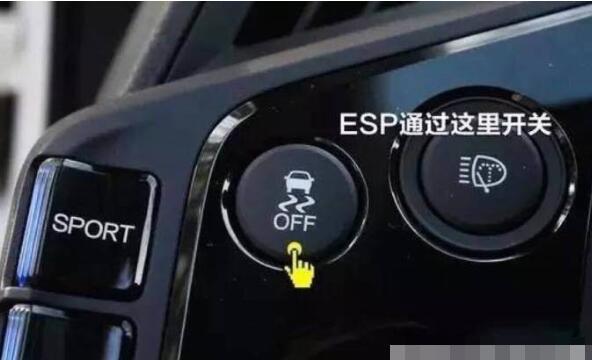 汽车上的off是开还是关,这个标志是关闭esp的意思
