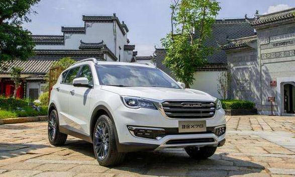 2018年10月中型SUV销量排行榜 国产新车捷途X70近万销量排第四