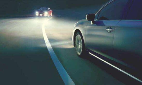远光灯和近光灯图解,教你如何正确使用远近光灯