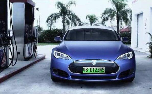 绿牌照是什么汽车,新能源汽车细分为4种不同车牌