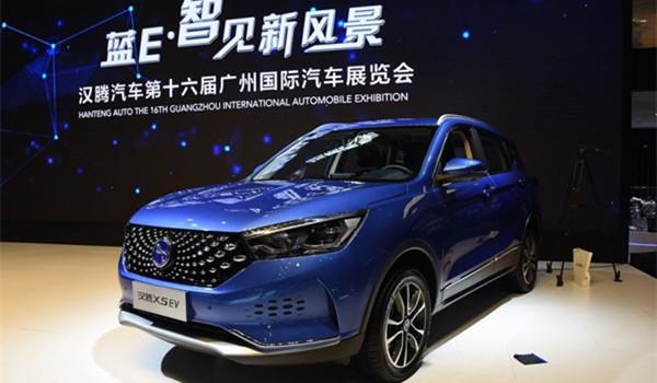 11月新车汉腾X5 EV 一款纯电动的紧凑型SUV