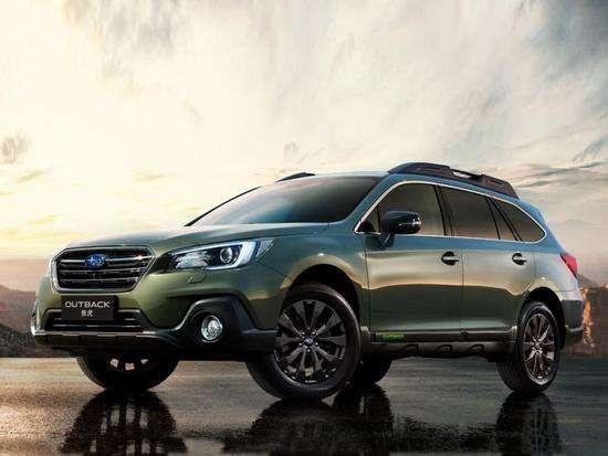 最近上市的SUV斯巴鲁新款傲虎 性能优秀个性十足