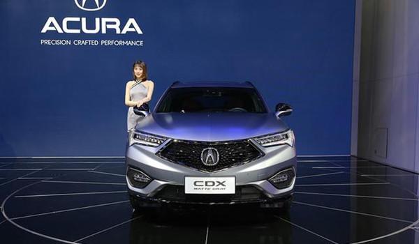 新上市的SUV讴歌CDX特别版 哑光灰更具吸引力