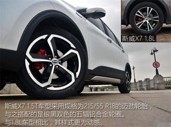 斯威x7轮胎尺寸多少 怎么保护轮胎