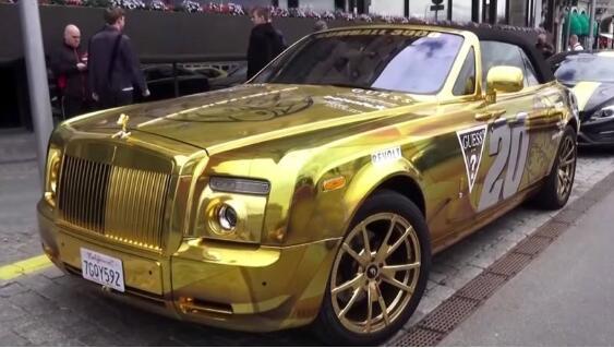 汽车镀金是什么意思,表面镀一层金膜只是为了更耀眼