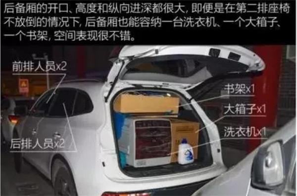 江淮瑞风S7后备箱尺寸多少 江淮瑞风S7后备箱介绍