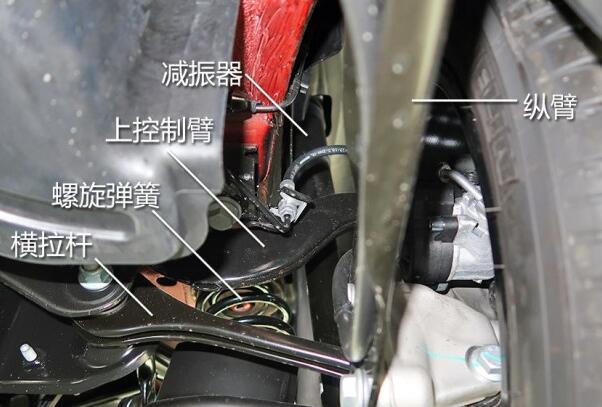 奥迪Q2L质量怎么样 底盘悬架具有横向空间小的特点