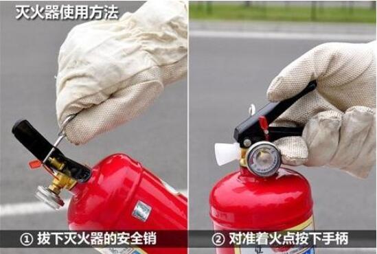 车载灭火器的使用方法详解,灭火器的储存及摆放位置介绍