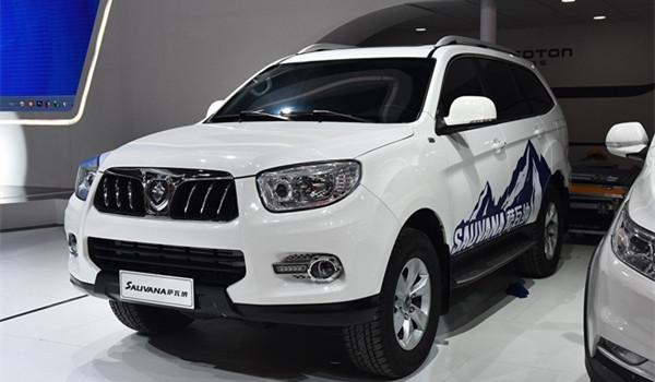 福田SUV车型推荐 萨瓦纳拥有自动挡时下少见