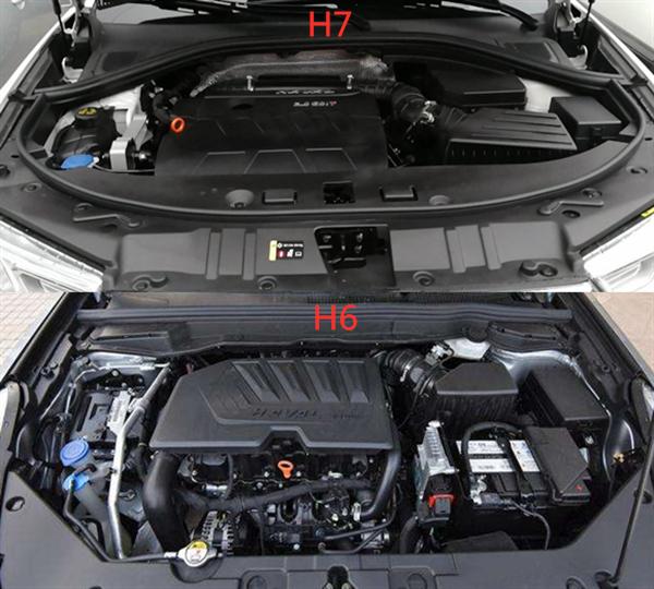 哈弗H7和哈弗H6哪个好 本质上不分好坏主要看预算然后决定选哪款