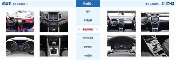 奇瑞瑞虎5和哈弗H2哪个好 售价接近的两款车型如何选择