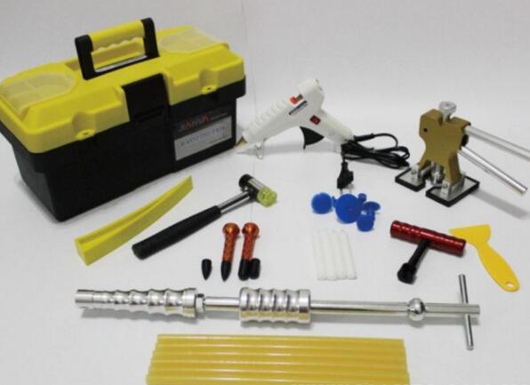 无痕修复汽车凹陷的方法,热水和马桶搋子只能修复微凹陷