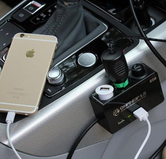 车载点烟器可以充电吗,可以充电但使用过度会损坏汽车电路