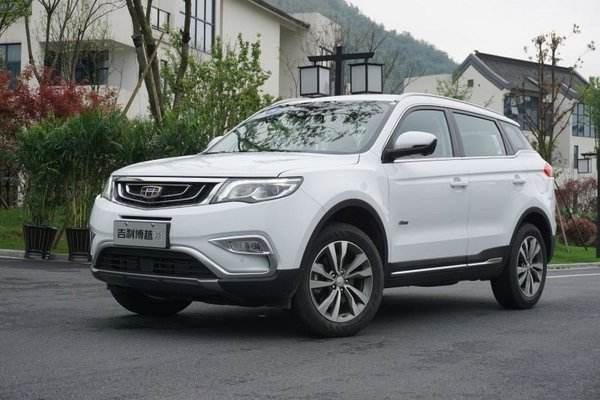 2019年2月紧凑型SUV销量排行榜 吉利博越同比下降达25.82%