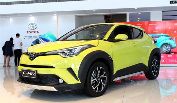 丰田C-HR一月销量有多少 今年一月销量排名第38