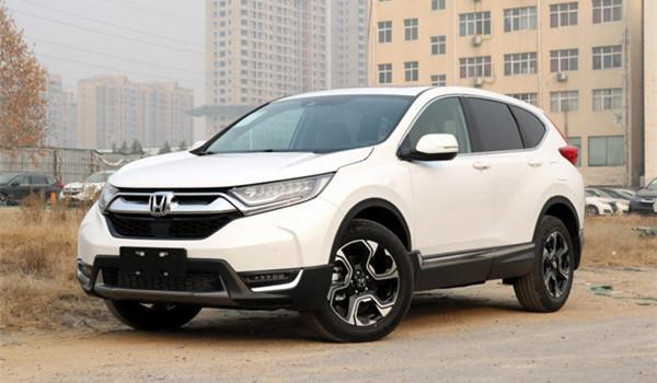 本田CR-V二手车价格 要看车辆的具体情况