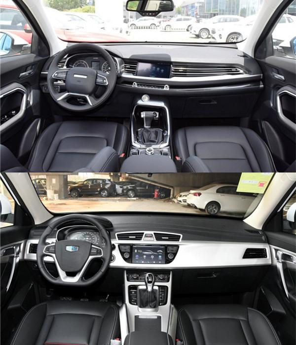 国产紧凑型SUV的较量 哈弗H6和吉利博越哪个好