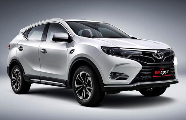 东南DX7五月销量 2019年5月销量873辆(销量排名第141)