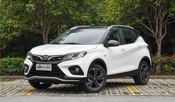 东南DX3五月销量 2019年5月销量868辆(销量排名第143)