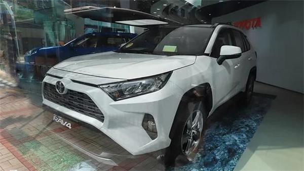 丰田RAV4五月销量 2019年5月销量12241辆(销量排名第9)