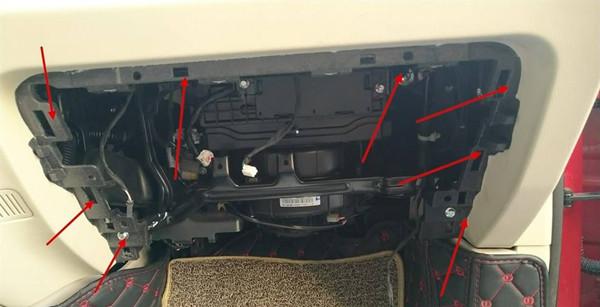 众泰t700空调滤芯在哪 众泰t700空调滤芯位置图片