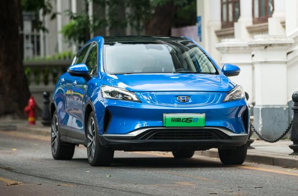 帝豪gse新款2019款车型 价格不变但续航能力进一步提升