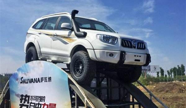福田萨瓦纳底盘怎么样 采用硬派SUV常见的悬架结构