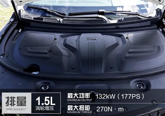 东风风光580pro配置 1.5T+CVT黄金动力组合售价仅9.29万