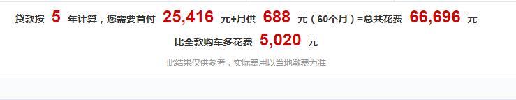 宝骏510首付多少钱月供多少钱 宝骏510每月月供仅需1000元