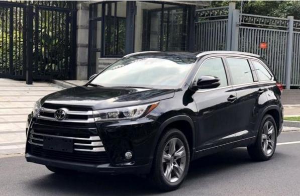 丰田汉兰达2019全新款 新款汉兰达空间增加动力强劲