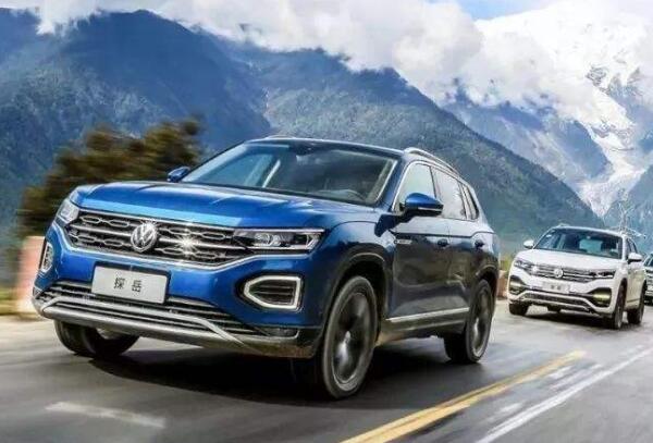 2019年8月30万SUV销量排行榜 大众探岳遥遥领先