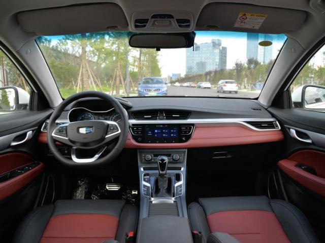 吉利远景S1新增车型 售价7.59万安全配置丰富满足国六标准