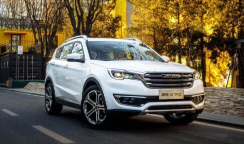 2019年9月10万SUV销量排行榜 奇瑞捷途X70排第一