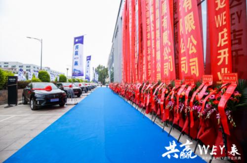 共赢WEY来——深圳金达哈弗深圳腾达WEY双品牌4S店盛大开业