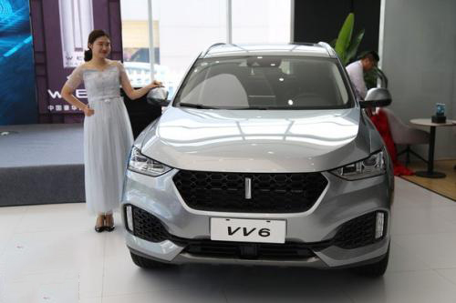 新款长城新车vv6上市时间 新款进行了全新升级上市于7月25日