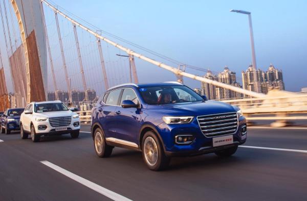 2019年10月SUV销量排行榜278车型版 哈弗H6销40623辆再获冠军