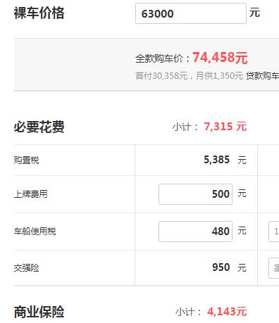 哈弗m6分期付款 哈弗m6首付3.03万元月供1350元(总价7.9万元)
