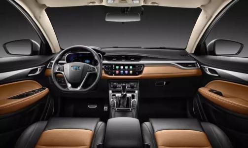 2019款吉利帝豪GS 动力更新换代配置升级