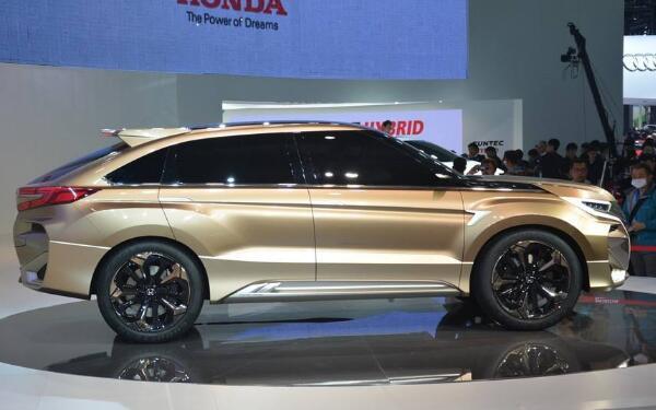 本田新款7座suv车型来袭 新款conceptD有望国内上市