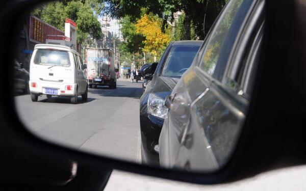 科目二侧方位停车最简单的找点方法 学会这些轻松过科目二